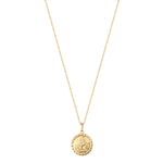 9ct gold - coin necklace - seolgold