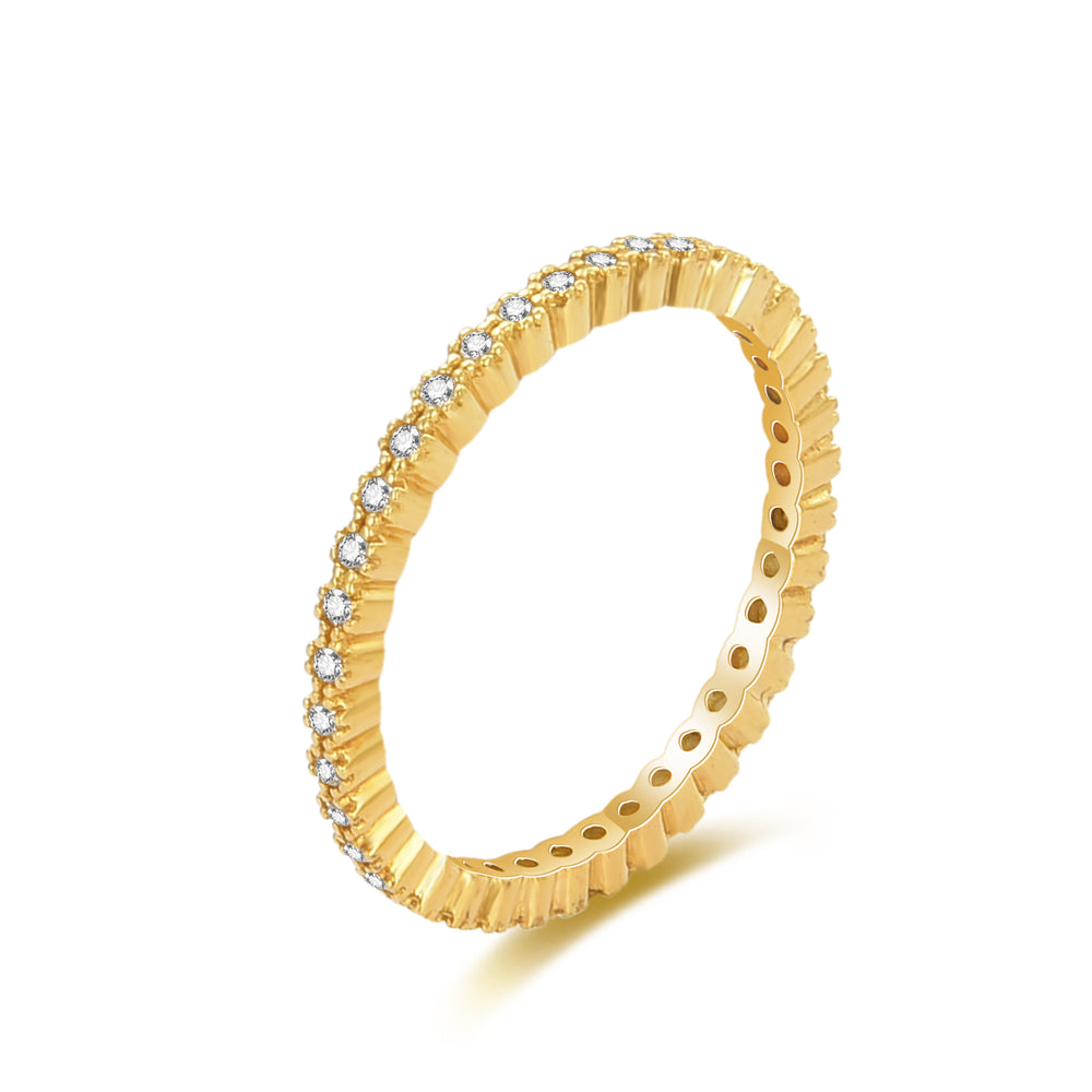 gold eternity ring - seol-gold
