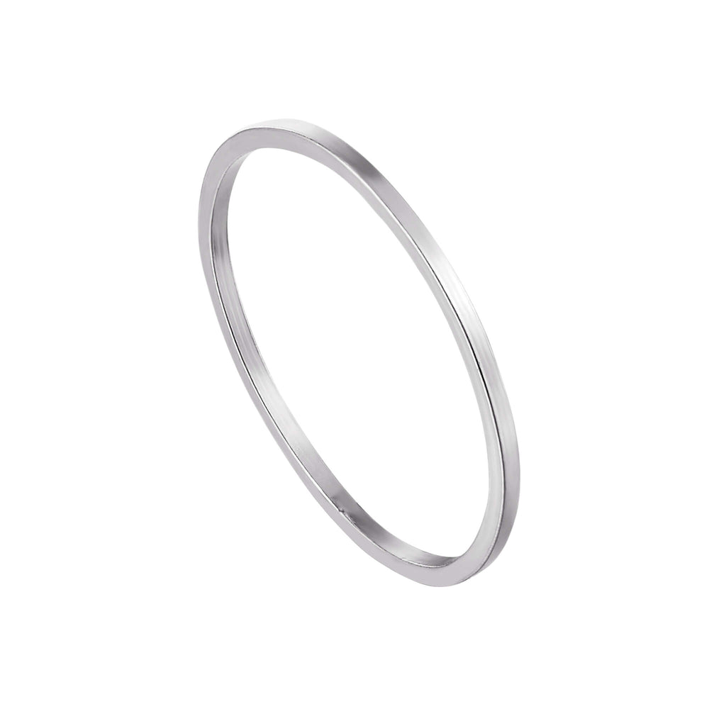 silver band ring - seolgold