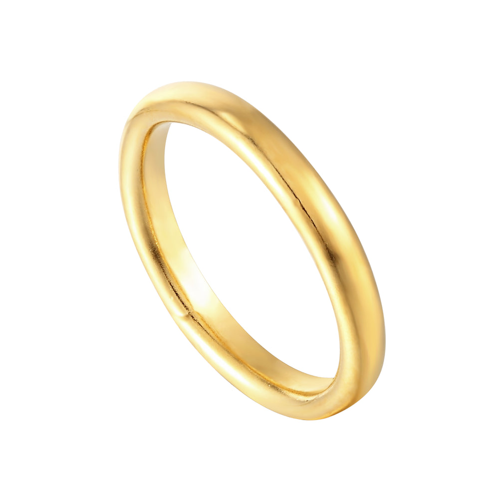 gold chunky ring - seolgold