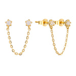 9ct stud - seol gold
