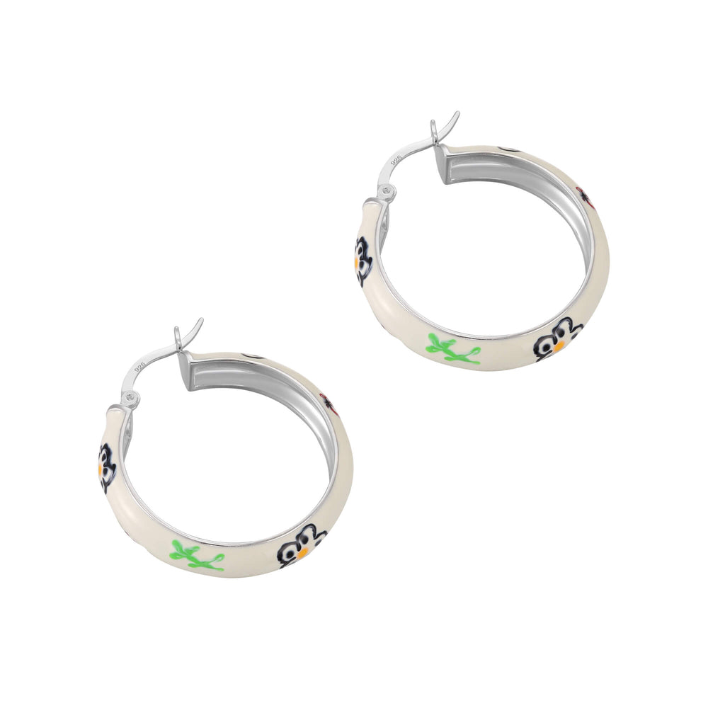 flower hoops - seolgold