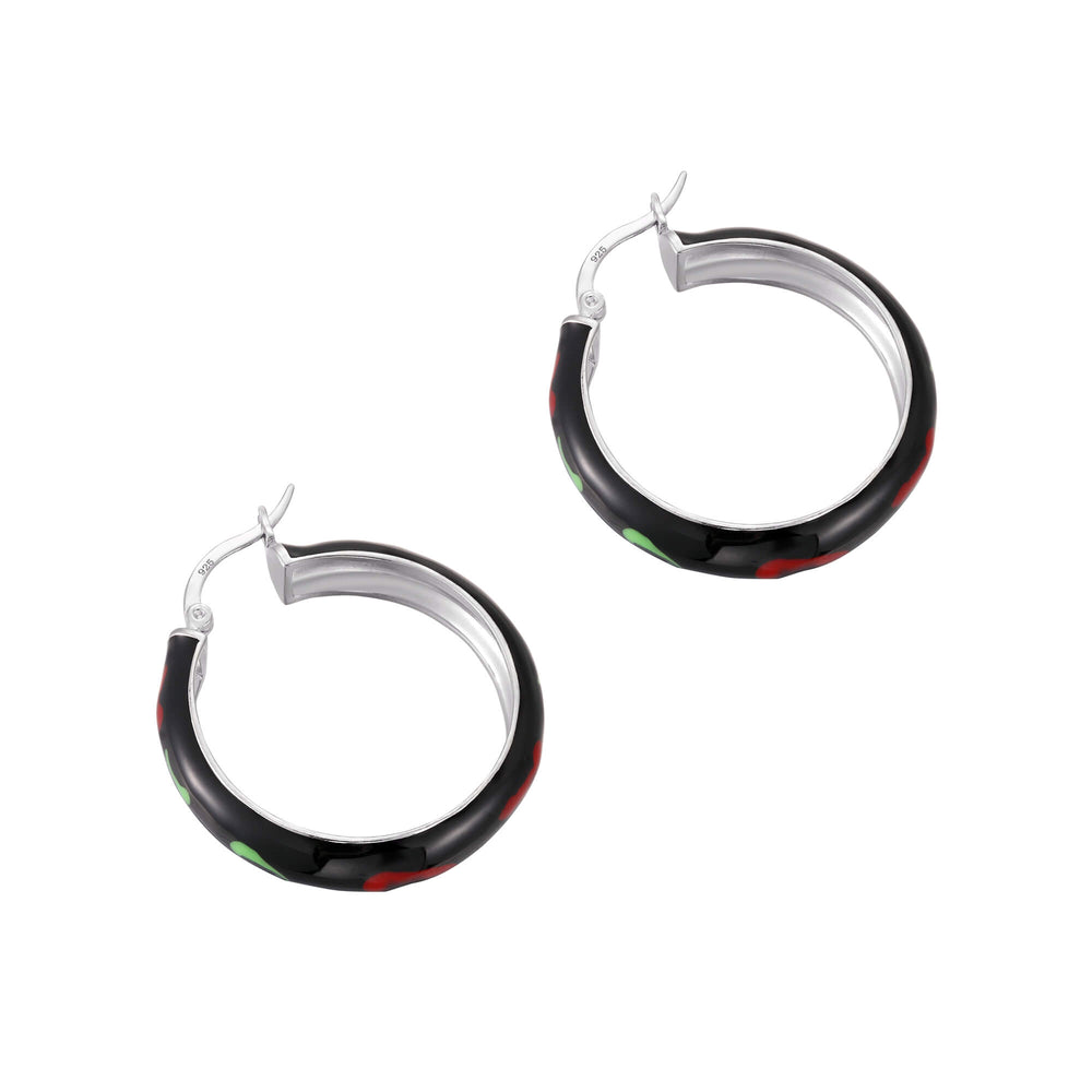 black hoops - seolgold