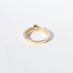 Gold stacking ring - seolgold