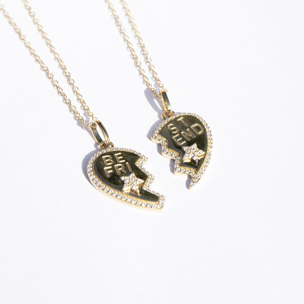 Best Friend necklace - seol gold