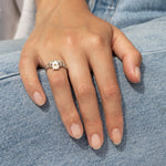 Claddagh Ring - seol-gold