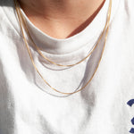 silver chain - seol-gold