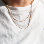 silver box Chain - seol-gold