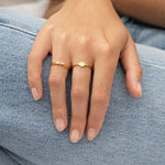Cut-out Star Stacking Ring - seol-gold