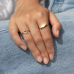 9ct Gold Arch Ring - seol-gold