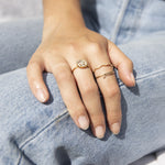 face ring - seol-gold