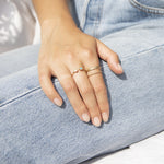 9ct Gold Rope Plait Ring - seol-gold
