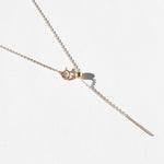 9ct Gold Pull Through Adjustable Chain Necklace - seol-gold