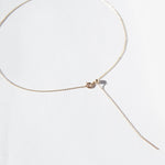 Gold  Adjustable Necklace - seol-gold