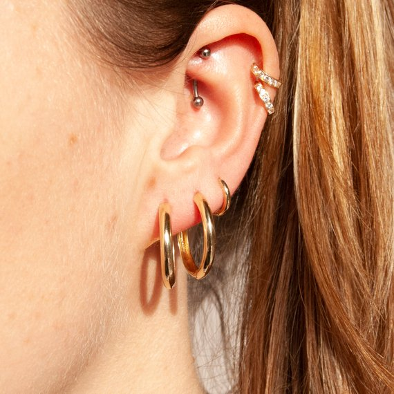 20mm Huggie Earrings