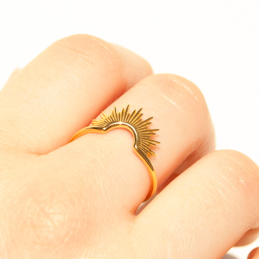 Halo Arch Ring - seol-gold
