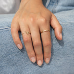 9ct Gold Buckle Ring - seol-gold