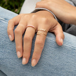 9ct Gold Chain Ring - seol-gold