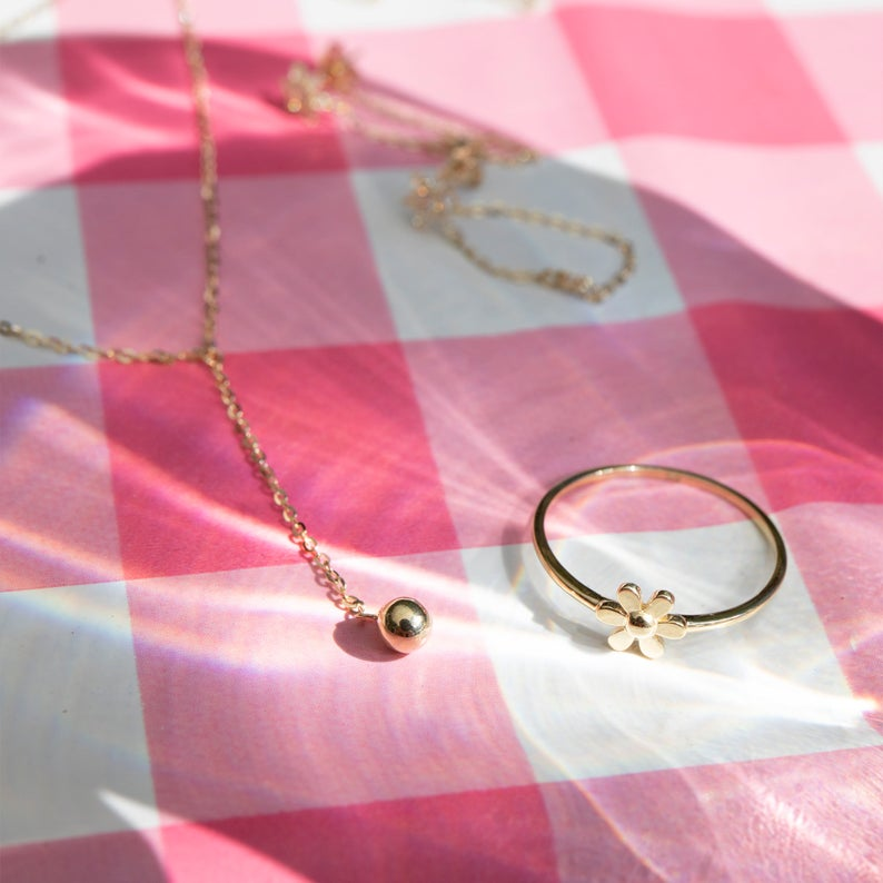 9ct gold necklace - seolgold