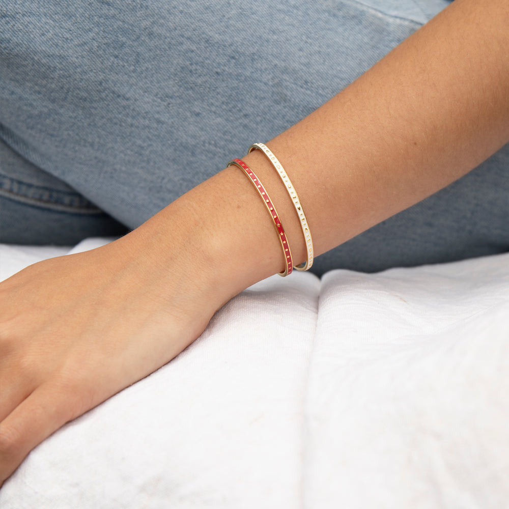 gold Cuff Bangle - seol-gold