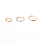9ct gold hoops - seol-gold