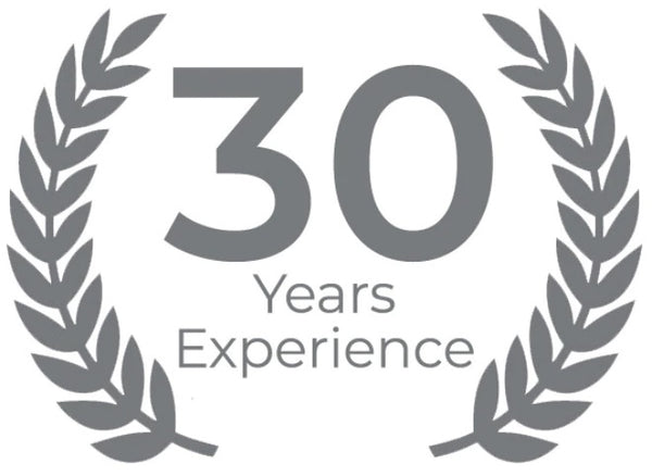 30 Years of Experience (since 1990)