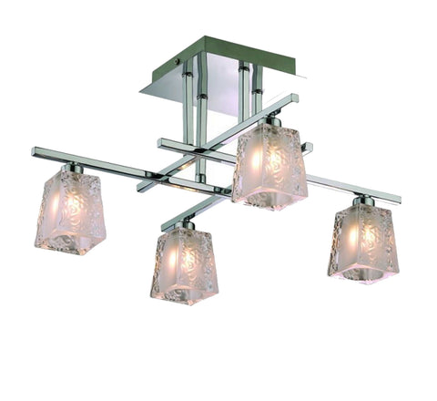 4 Light Modern Ceiling Lamp
