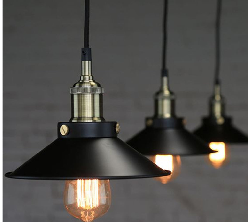 Retro Industrial Pendant Light