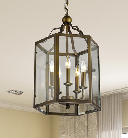 American Retro Foyer Pendant Light