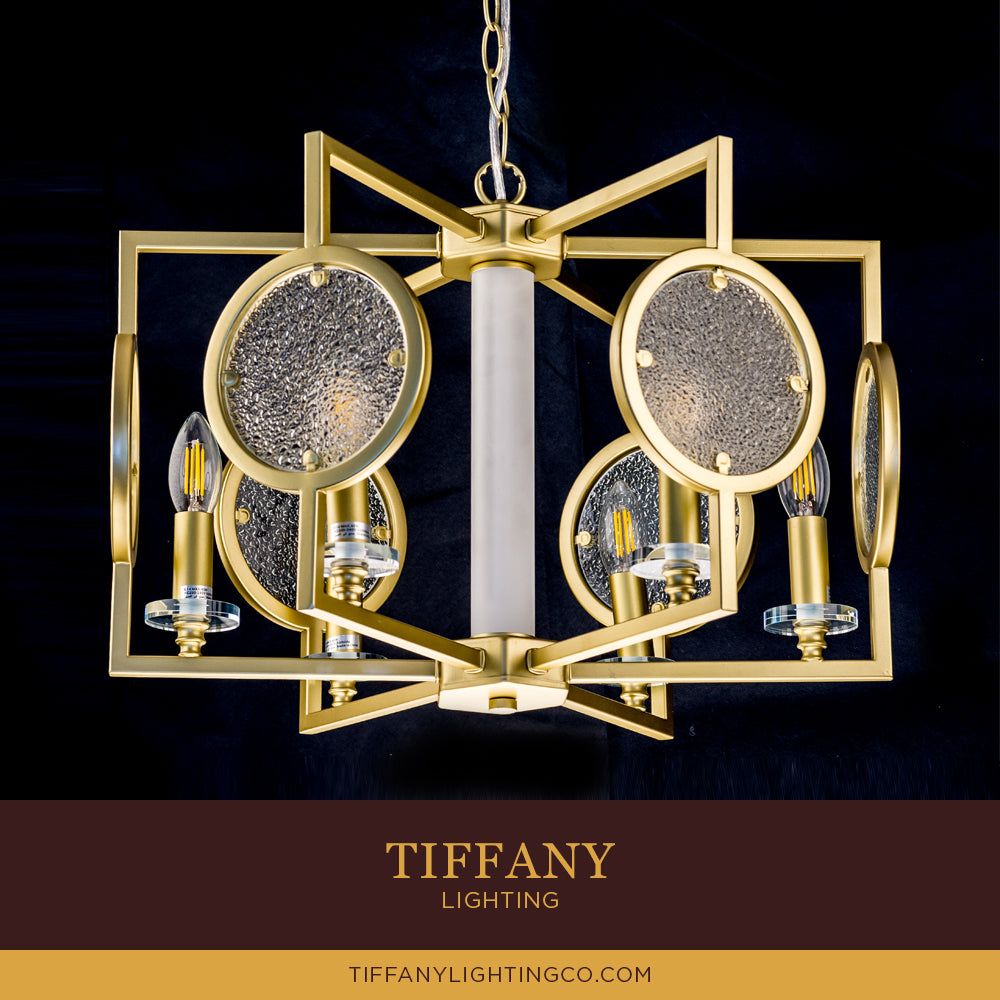 Modern Gold Pendant Light