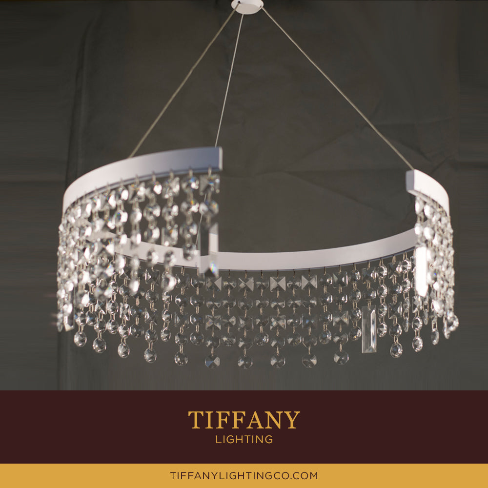Modern Crystal LED Pendant Light