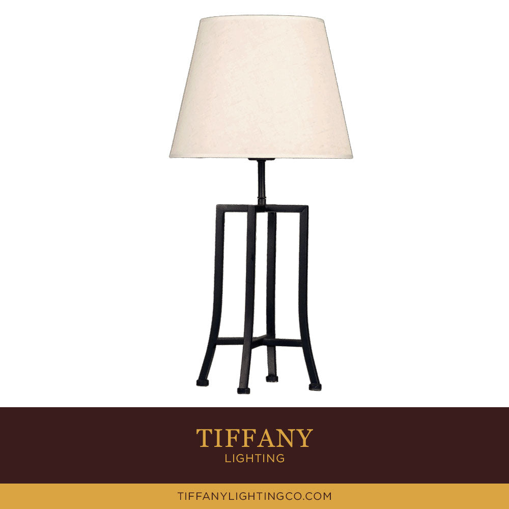 Modern Simple Black Table Lamp