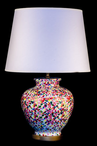 Ceramic Modern Brush Table lamp