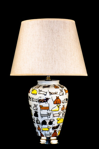 Modern Ceramic Pets Table Lamp