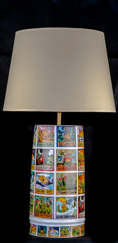 Modern Mosaic Creative Ceramic Table Lamp