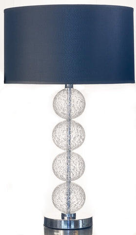 Modern 4 Ball Glass Table Lamp