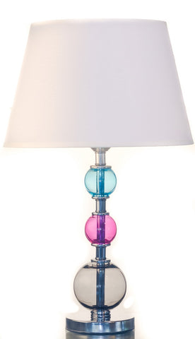 Modern Colorful 3 Ball Table Lamp