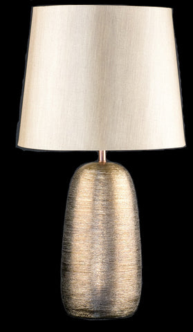 Modern Antique Gold Glaze Ceramic Table Lamp