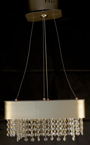 Modern LED Crystal Pendant Light