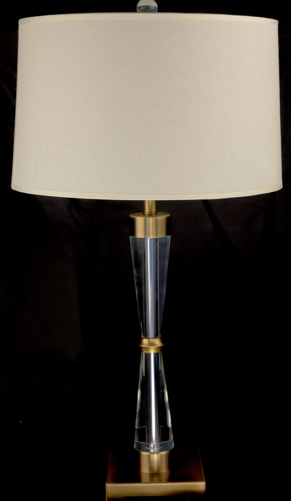 Chic Cooper Crystal Table lamp