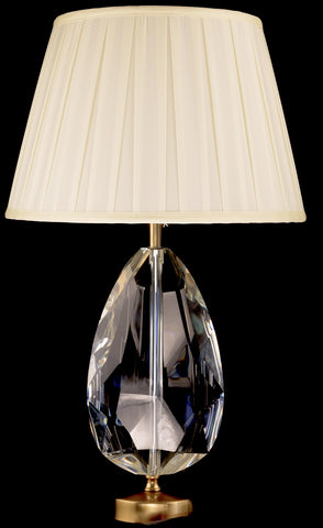 Modern Solid Crystal Table Lamp
