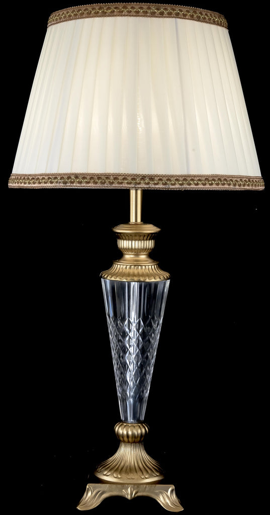 Tradition Crystal Bronze Table Lamp