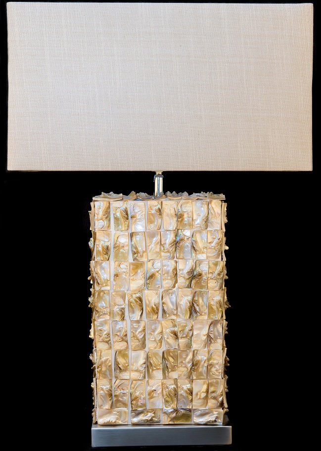 Natural Shells Chic Table Lamp