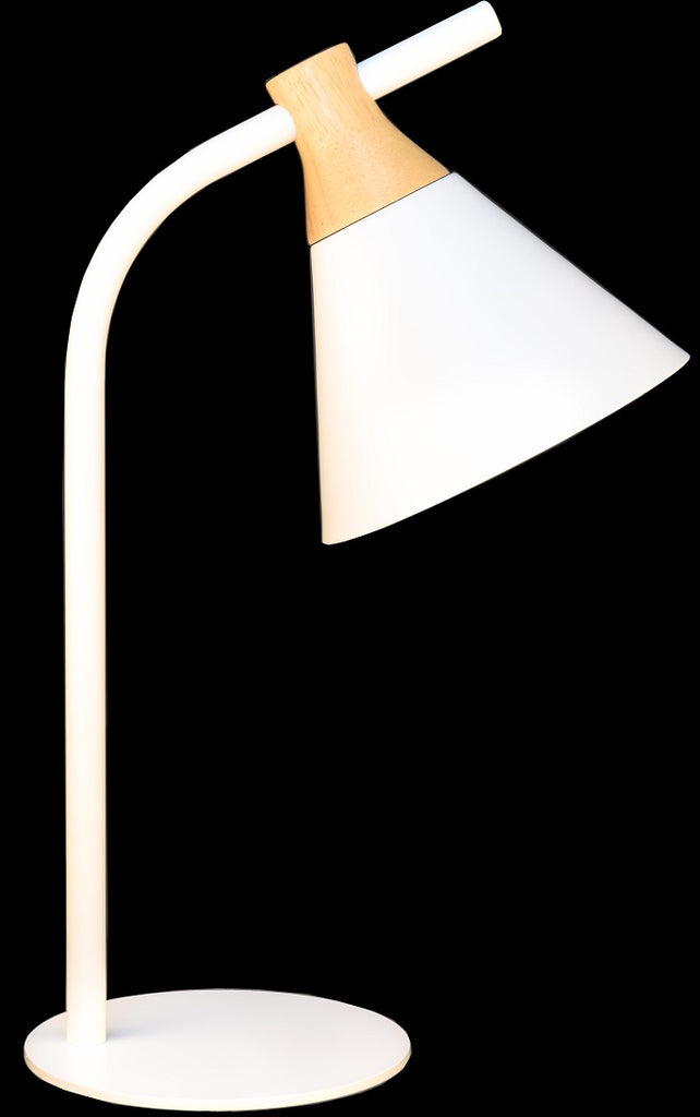 White Modern Kids Table Lamp