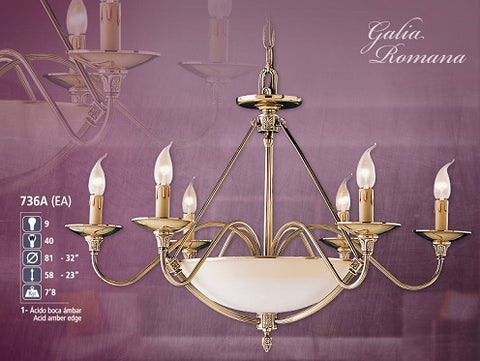 Classic Bronze Luxury Chandelier