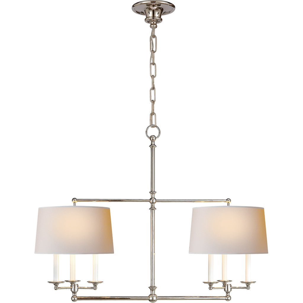6 Light Modern Chandelier