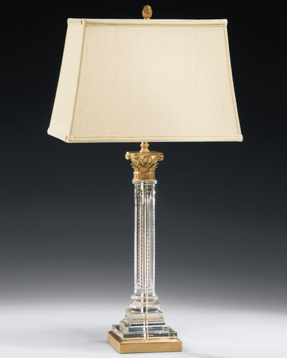 Classic Luxury Crystal Column Table lamp