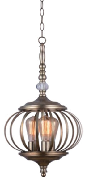 Nordic Bronze Pendant Light