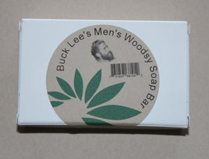 Buck Lee's Mens Woodys Cedarwood Bar Soap
