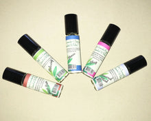 Load image into Gallery viewer, Buck Lee's Assorted Essential Oil Blended Roller Bottle (5X10ml)